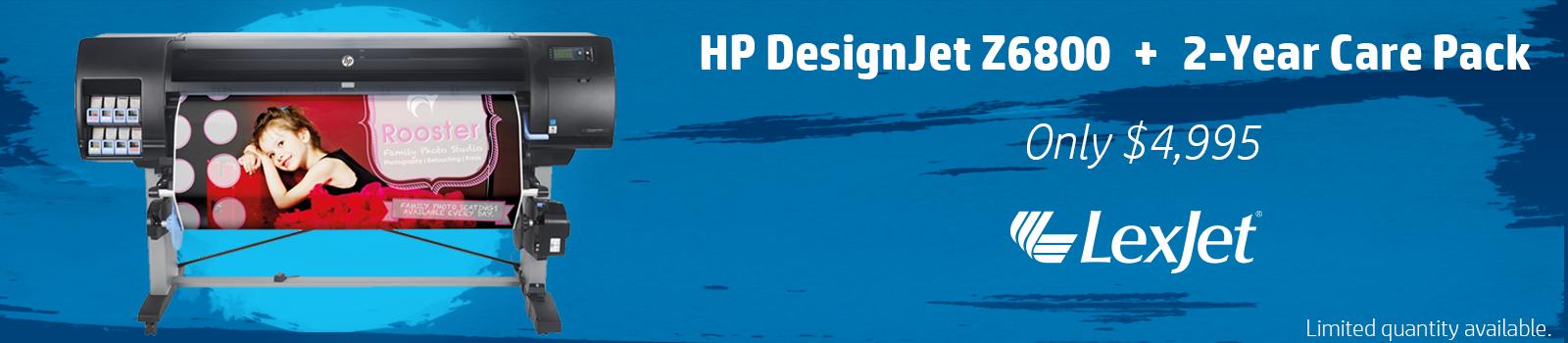 HP Printer+Care Pack Banner