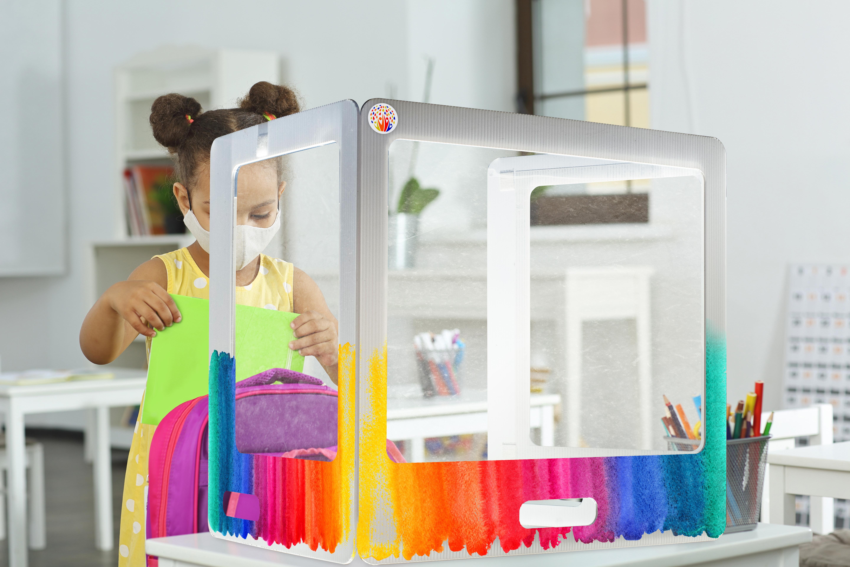 Girl_Behind_CubeMate_Rainbow-Logo